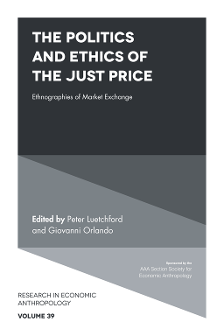 Introduction – Toward an Anthropology of the Just Price