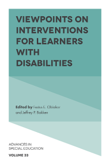 Interventions for Students with Intellectual Disabilities