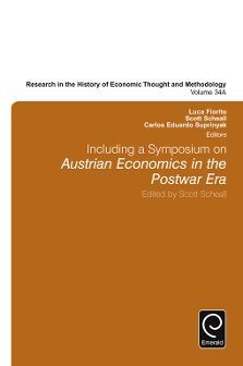 The History of a Tradition: Austrian Economics from 1871 to