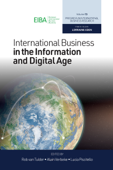 Global Competitors? Mapping the Internationalization Strategies of