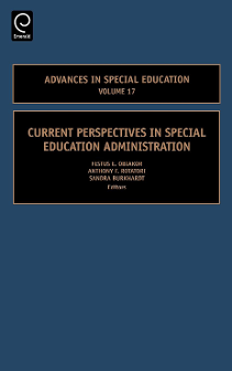 Cover of Current Perspectives in Special Education Administration