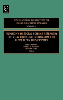 Cover of Autonomy in Social Science Research