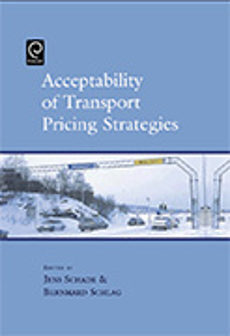 Cover of Acceptability of Transport Pricing Strategies