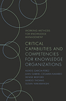 Cover of Critical Capabilities and Competencies for Knowledge Organizations