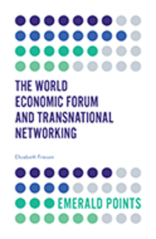 Cover of The World Economic Forum and Transnational Networking