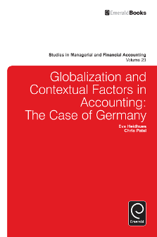 Cover of Globalization and Contextual Factors in Accounting: The Case of Germany