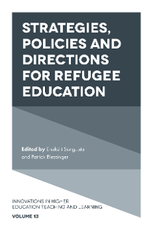 Cover of Strategies, Policies, and Directions for Refugee Education