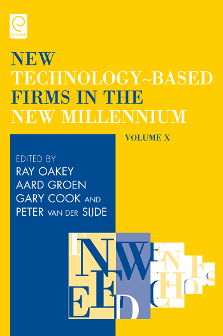 Cover of New Technology Based Firms in the New Millennium