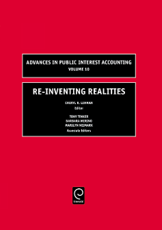 Cover of Advances in Public Interest Accounting