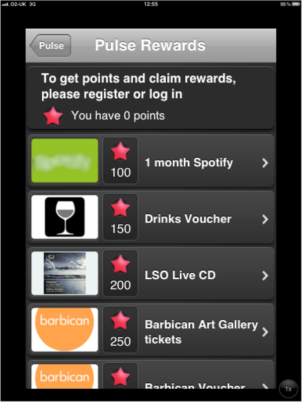 Branded app implementation at the London Symphony Orchestra
