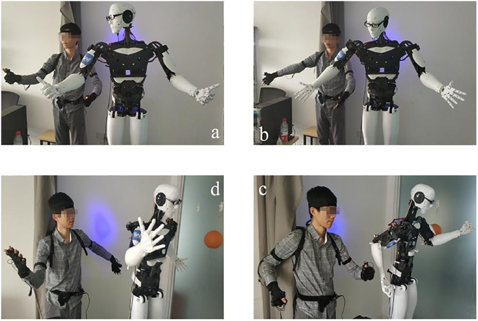 Natural teaching for humanoid robot via human-in-the-loop scene