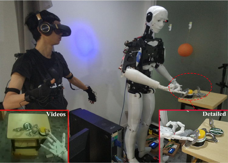 Natural teaching for humanoid robot via human-in-the-loop