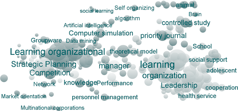 Is organizational learning being absorbed by knowledge